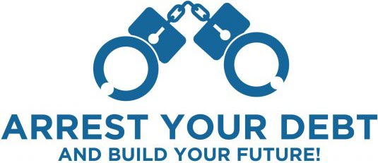 Arrest Your Debt logo.