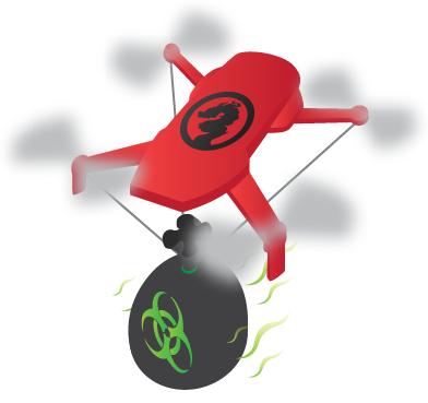 Chinese mafia drone