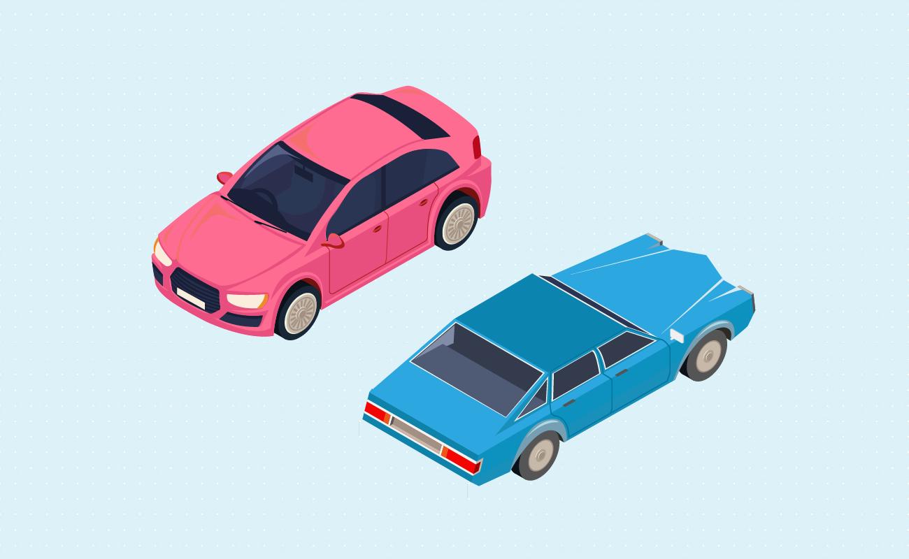 Choosing new versus used car.