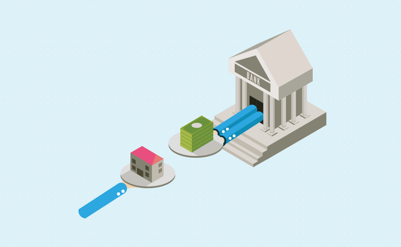 Credit limit based on house value.