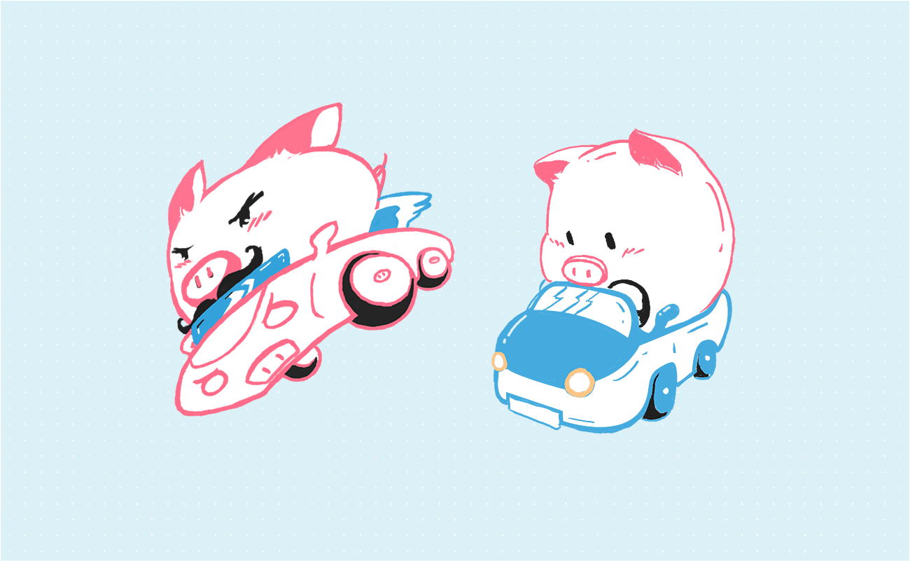 Fast pigly and slow pigly