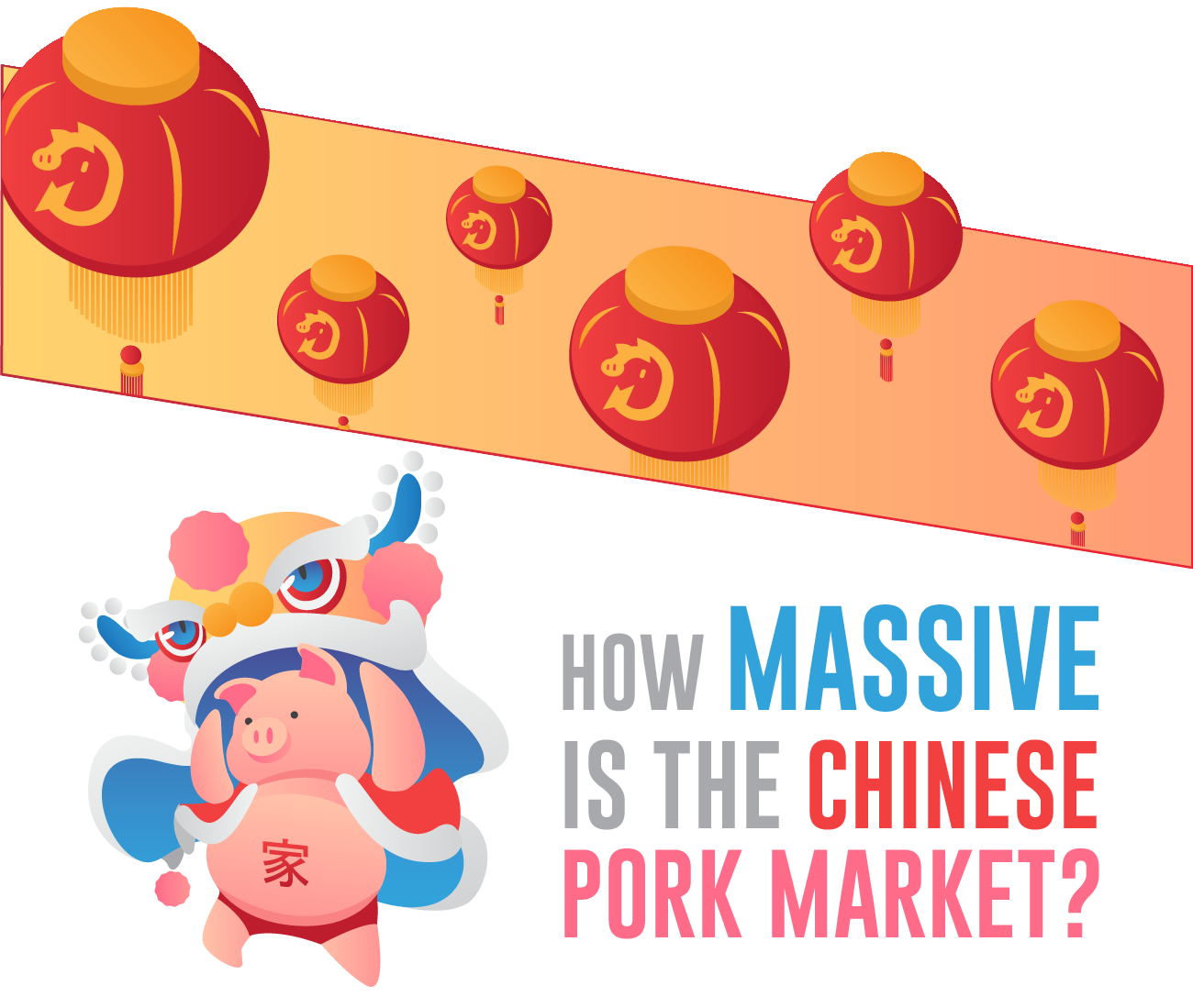 How massive is the chinese pork market.