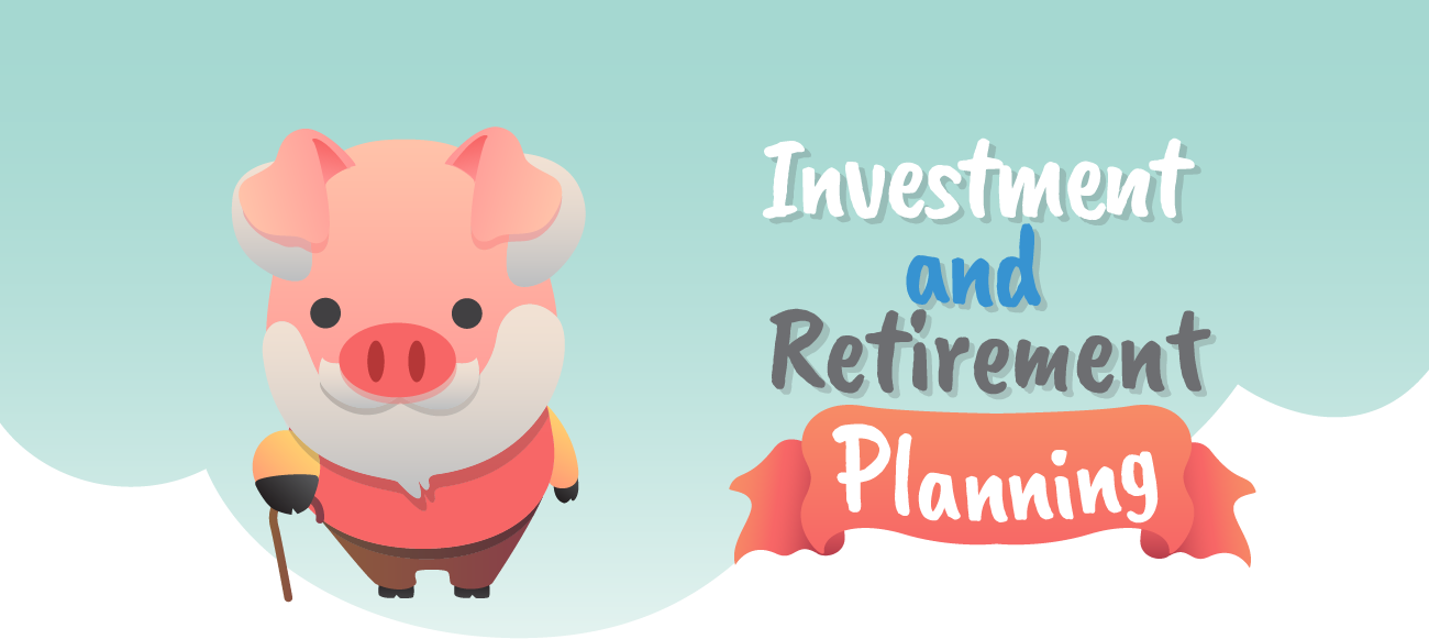Investment and retirement planning.