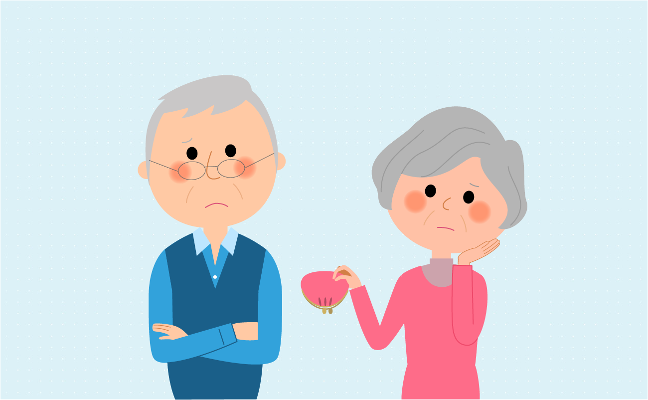 Old cpouple worried about retirement
