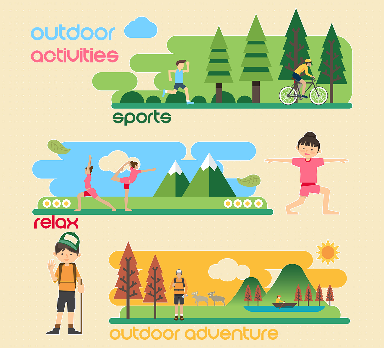 Outdoor Exercise Activities.