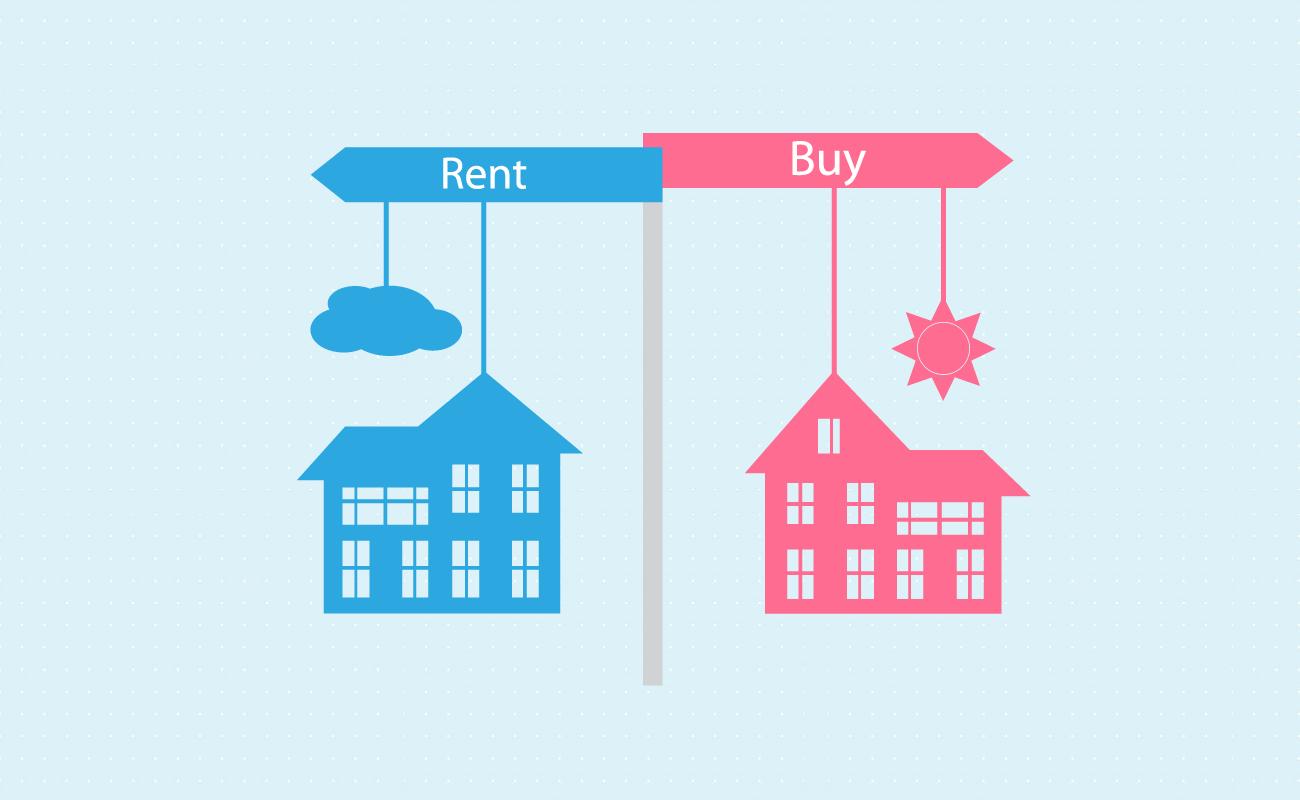 Rent or buy crossroads.