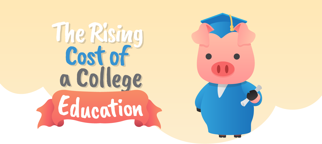 Rising cost of college education.