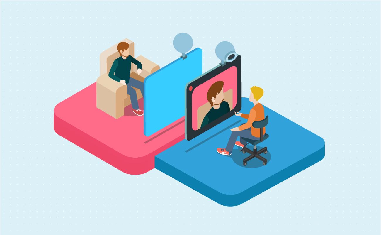 Video calls are the future.